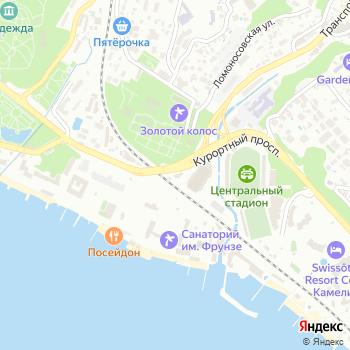Мегатим на Яндекс.Картах