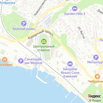 Парус на Яндекс.Картах