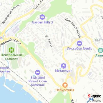Сочи-Кубань-Лада на Яндекс.Картах