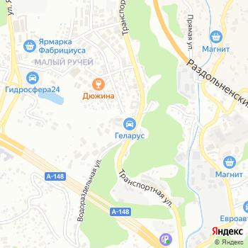 Лаура-Сочи на Яндекс.Картах
