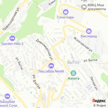 Почта с индексом 354054 на Яндекс.Картах