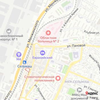 Тиффани на Яндекс.Картах