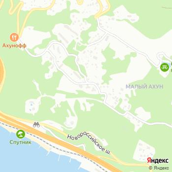 Хоста на Яндекс.Картах