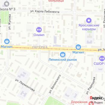 Камод на Яндекс.Картах