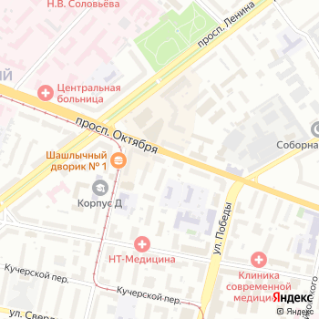 Почта с индексом 150040 на Яндекс.Картах