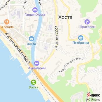 Сеть магазинов автозапчастей на Яндекс.Картах