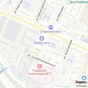 ТриЛан Вологда на Яндекс.Картах