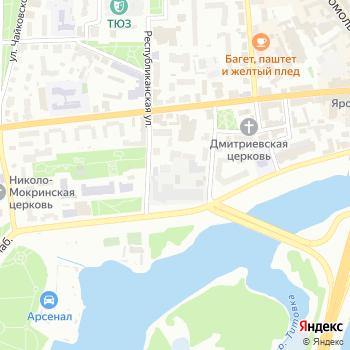 Зеркальный блеск на Яндекс.Картах