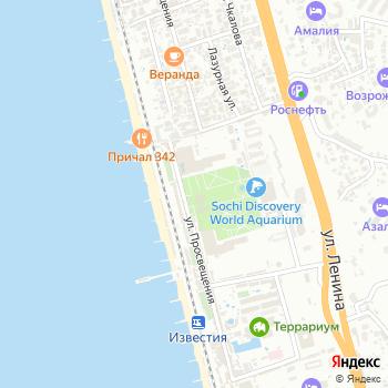 Отдых на Яндекс.Картах