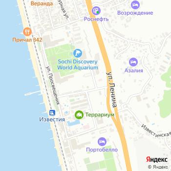 Бювет на Яндекс.Картах