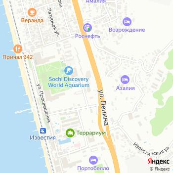 КлючАвто Сочи на Яндекс.Картах