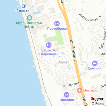 Амфибиус на Яндекс.Картах