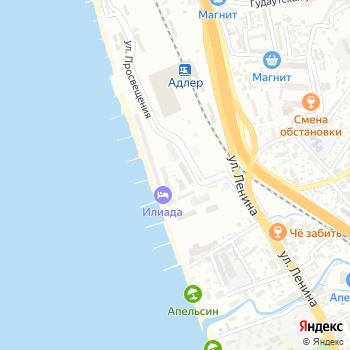 Миквабия на Яндекс.Картах