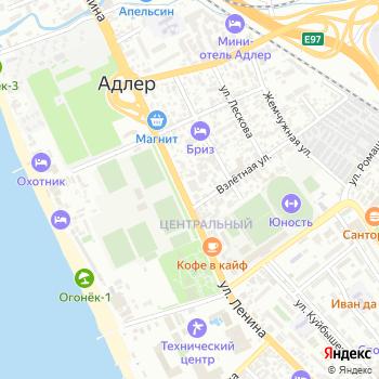 Сакура на Яндекс.Картах