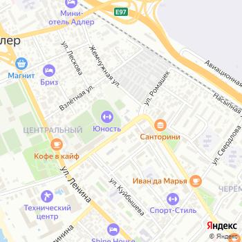Сириус на Яндекс.Картах