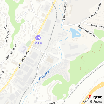 Сочинские электросети на Яндекс.Картах