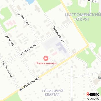 Взрослая поликлиника на Яндекс.Картах