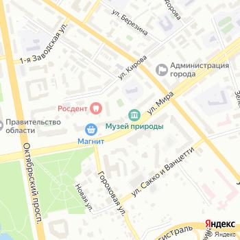Пульты и антенны на Яндекс.Картах