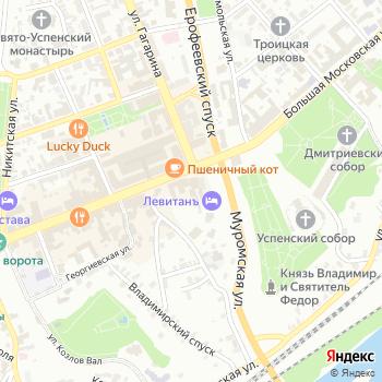 Интурист-Владимир на Яндекс.Картах