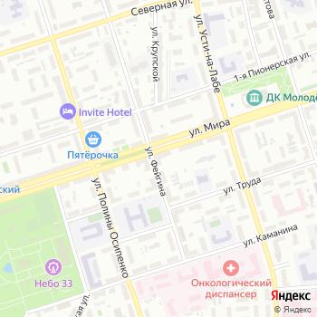 Астра на Яндекс.Картах