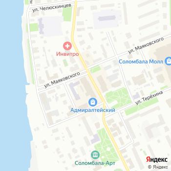 Маяк на Яндекс.Картах