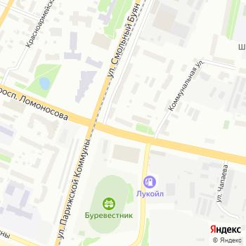 Почта с индексом 163002 на Яндекс.Картах