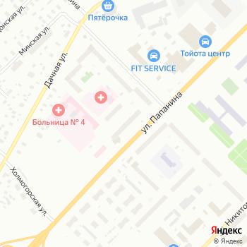 Мурена на Яндекс.Картах