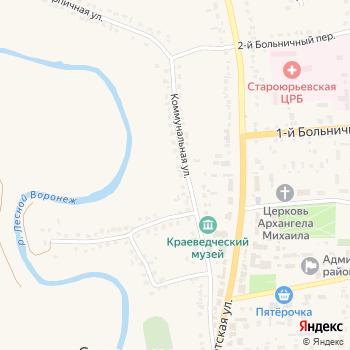 Почта с индексом 393801 на Яндекс.Картах