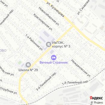 Почта с индексом 153021 на Яндекс.Картах