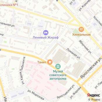 Росинтекс на Яндекс.Картах