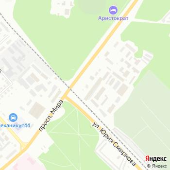 Комбик на Яндекс.Картах