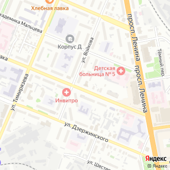Мы и Бурда Моден на Яндекс.Картах