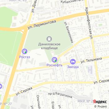 Домбай на Яндекс.Картах