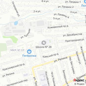 Средняя общеобразовательная школа №28 на Яндекс.Картах