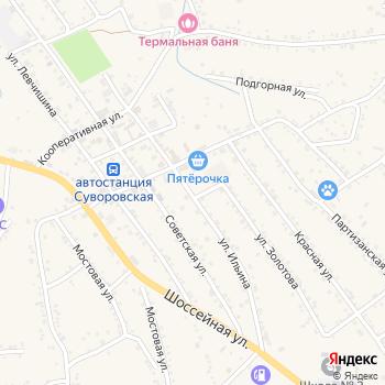 Почта с индексом 357390 на Яндекс.Картах