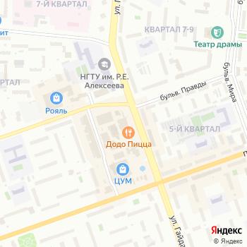Росси на Яндекс.Картах