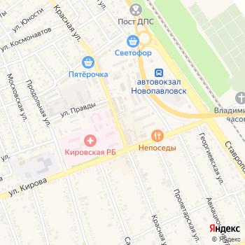 Почта с индексом 357302 на Яндекс.Картах