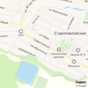 Почта с индексом 357321 на Яндекс.Картах