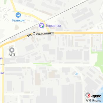 Автосервис на Федосеенко на Яндекс.Картах