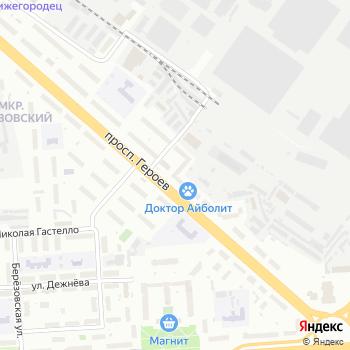 Нижегородские этажи на Яндекс.Картах