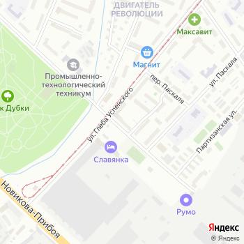 Почта с индексом 603061 на Яндекс.Картах