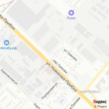 Почта с индексом 603058 на Яндекс.Картах