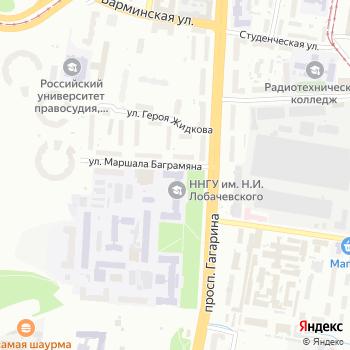 ННГУ на Яндекс.Картах