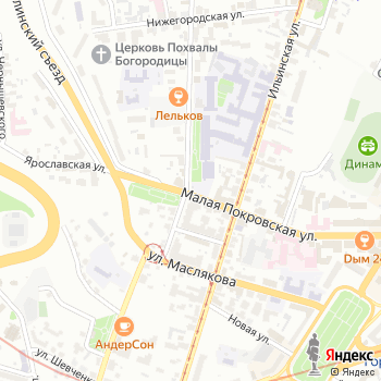 Указатель системы городского ориентирования №5626 по ул.Гоголя на Яндекс.Картах
