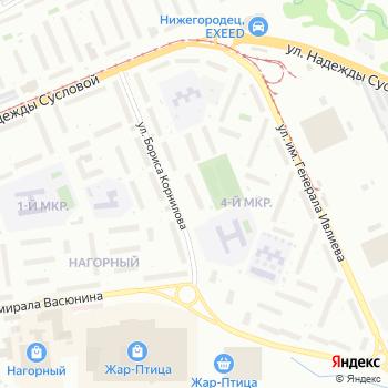 Почта с индексом 603106 на Яндекс.Картах