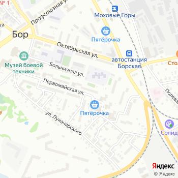 Почта с индексом 606447 на Яндекс.Картах
