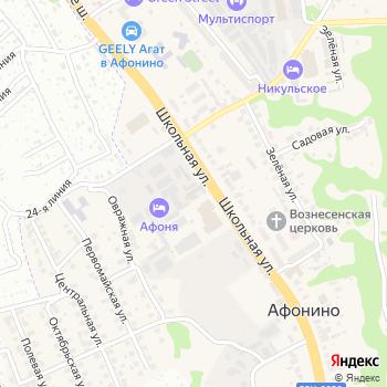 Афоня на Яндекс.Картах
