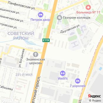 Зеленое Кольцо на Яндекс.Картах