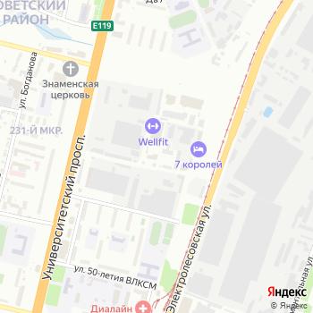 Арена на Яндекс.Картах