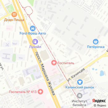 Отдел службы судебных приставов по Дзержинскому району г. Волгограда на Яндекс.Картах